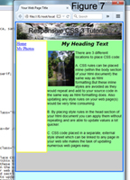 Responsive Cascading Style Sheet Tutorial using Notepad