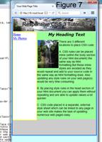 Div Layer & Responsive CSS Tutorial using Notepad, Free PDF
