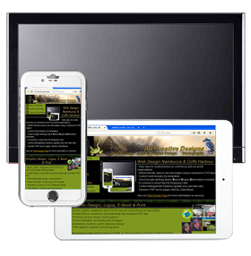 Nambucca Web Site Design, E-Commerce, Mobile Friendly CSS Layout