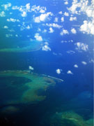 Barrier Reef Aerial Photo
